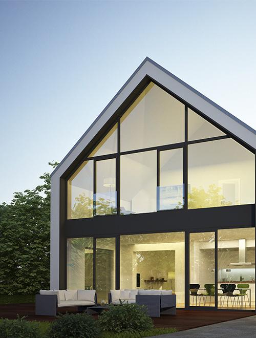 Maison moderne, design en Ile de France